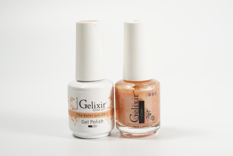 Gelixir Duo Gel & Lacquer The Ballet Girl 1 PK #091-Beauty Zone Nail Supply
