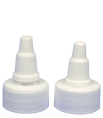 Tolco Closure, Twist Open/ Close White Plastic Cap