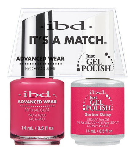 ibd Advanced Wear Color Duo Gerber Daisy 1 PK-Beauty Zone Nail Supply