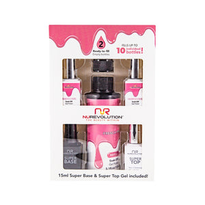 Nurevolution Gel Refills French Pink Gel Refills 5oz