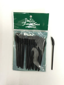 Fanta Sea DISPOSABLE CURVED MASCARA Brush #FSC629