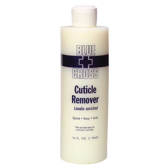 Blue Cross Cuticle Remover Lanolin Enriched 16 oz