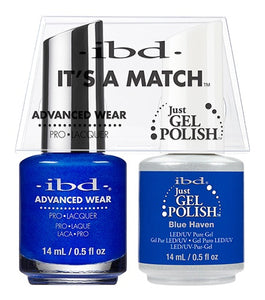 ibd Advanced Wear Color Duo Blue Haven 1 PK-Beauty Zone Nail Supply