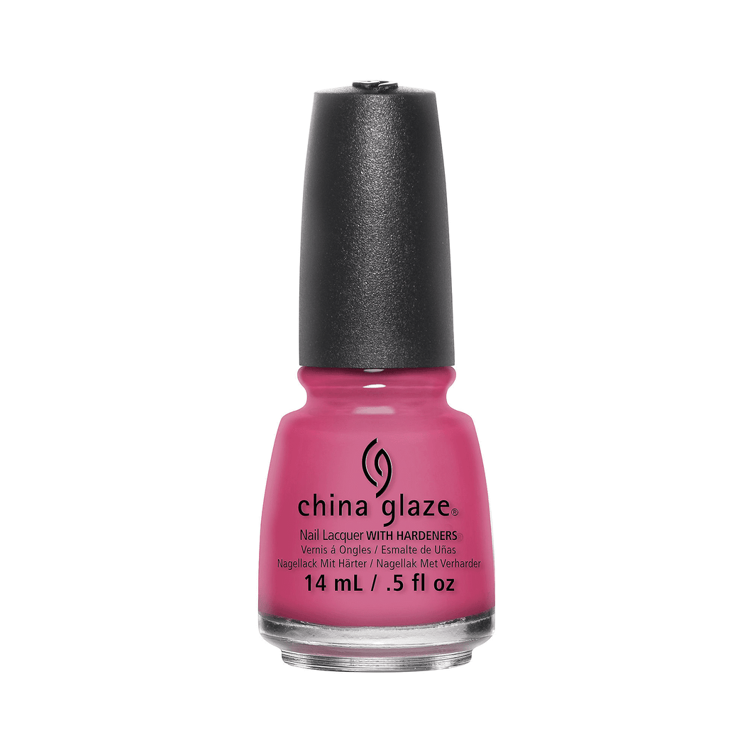 China Glaze Lacquer Shocking Pink 0.5 oz #70293-Beauty Zone Nail Supply