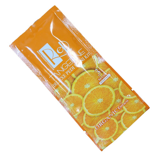 Red Manicure Pedicure Spa Step 3 Tangerine Mask-Beauty Zone Nail Supply