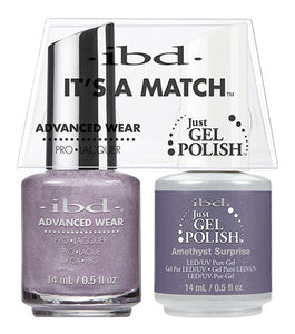 ibd Advanced Wear Color Duo Amethyst Surprise 1 PK-Beauty Zone Nail Supply