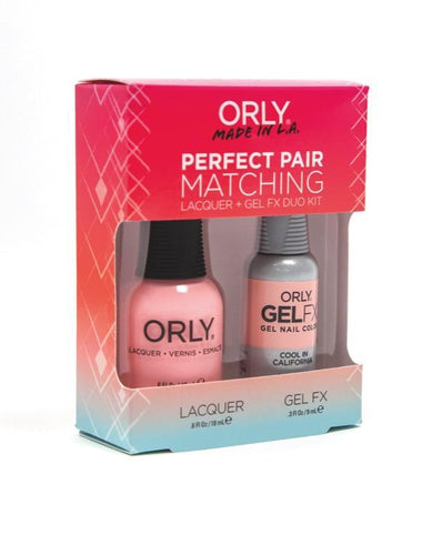 Orly Duo Cool In California ( Lacquer + Gel) .6oz / .3oz 31159-Beauty Zone Nail Supply