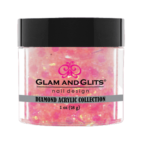 Glam & Glits Diamond Acrylic (Glitter) 1 oz Passion Candy - DAC65