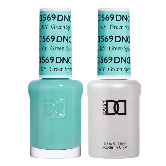 DND Duo Gel & Lacquer Green Spring #569