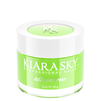 Kiara Sky All In One Dip Powder 2 oz Go Green DM5076-Beauty Zone Nail Supply