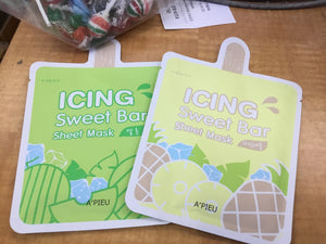 Mask sheet ICING SWEET BAR KOREAN A'PIEU