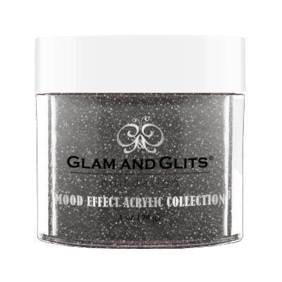 Glam & Glits Mood Acrylic Powder (Glitter) 1 oz White Night - ME1027-Beauty Zone Nail Supply