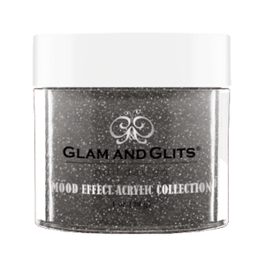 Glam & Glits Mood Acrylic Powder (Glitter) 1 oz  White Night  - ME1027