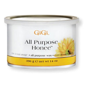 GiGi Wax All Purpose Honee 14 oz #0330-Beauty Zone Nail Supply