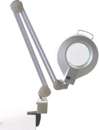 Clip on table magnifying lamp #9416