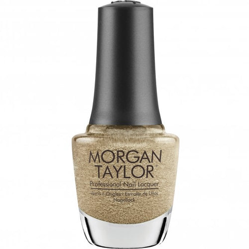 Morgan Taylor Nail Lacquer gilded in gold - gold metallic 15 mL | .5 fl oz #374