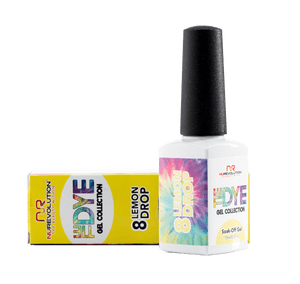 Nurevolution Tiedye Gel #08 Lemon Drop 15ml