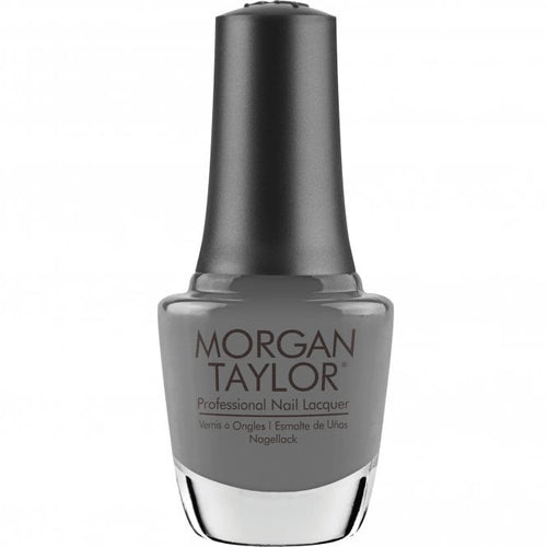 Morgan Taylor Nail Lacquer let there be moonlight - soft gray creme 15 mL | .5 fl oz #366
