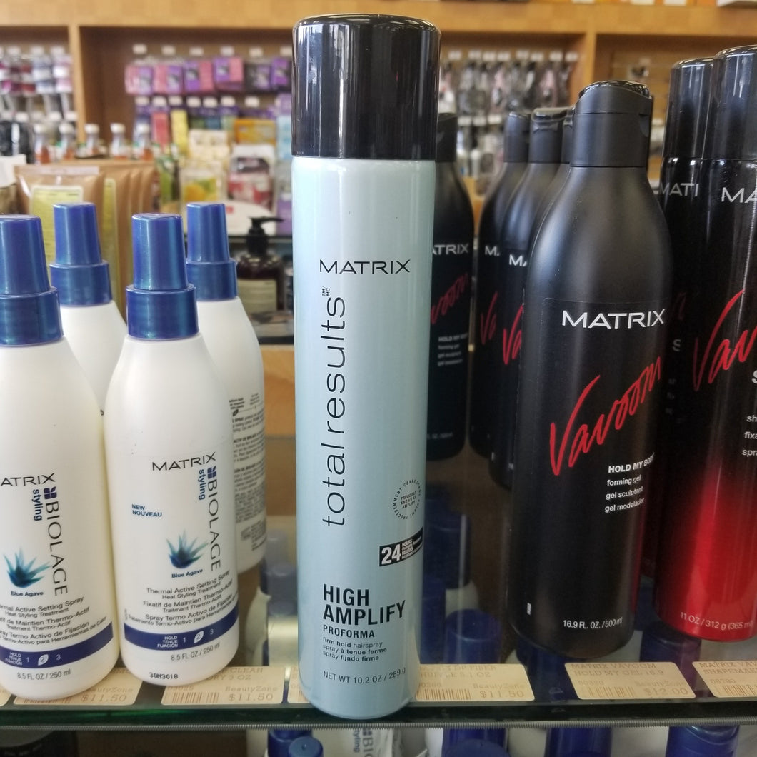 MATRIX TOTAL RESULTS HI AMPLIFY VOLUME PROFORMA - FIRM HOLD HAIRSPRAY 11 OZ #03411 - BeautyzoneNailSupply