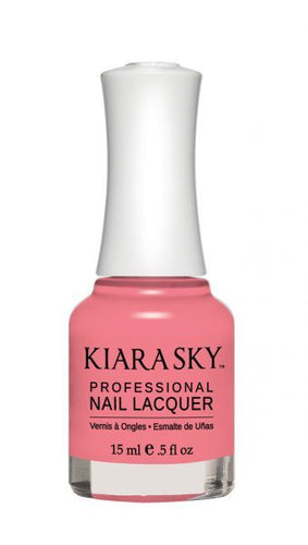Kiara Sky Lacquer -N407 PINK SLIPPERS
