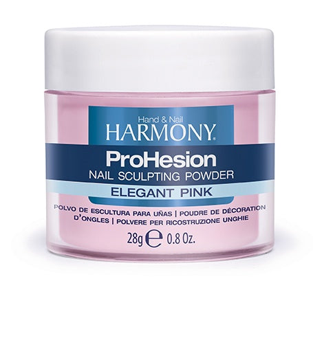 Harmony ProHesion Nail Powder Elegant Pink-Beauty Zone Nail Supply