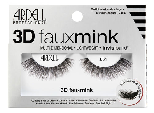 Ardell 3D Faux Mink 861 #70484-Beauty Zone Nail Supply