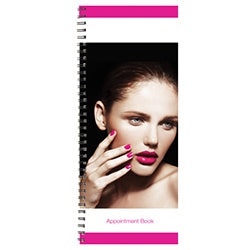 2 COLUMN APPOINTMENT BOOK PINK