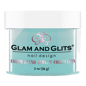 Glam & Glits Acrylic Powder Color Blend Make It Rain 2 Oz- Bl3031-Beauty Zone Nail Supply