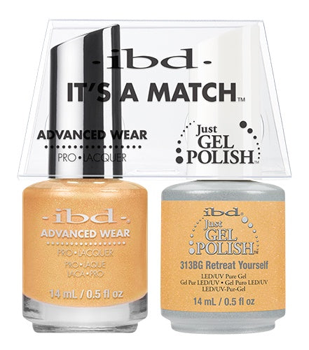 IBD Gel Polish DUO Retreat Yourself 14mL / 0.5 fl oz #65255