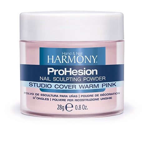 Harmony ProHesion Nail Powder Studio Cover Warm Pink-Beauty Zone Nail Supply