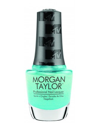 Morgan Taylor ELECTRIC REMIX TURQUOISE SHIMMER .5 fl oz #3110384-Beauty Zone Nail Supply