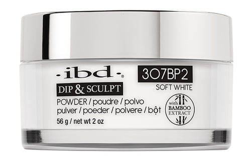 ibd Dip & Sculpt Soft White 2 oz 307BP2