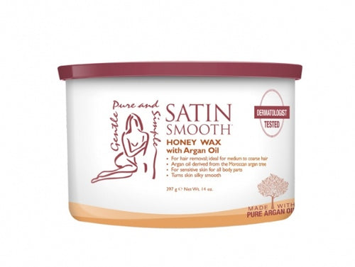 Satin Smooth Honey W/ Argan #Ssw14Hag
