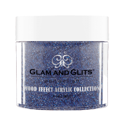 Glam & Glits Mood Acrylic Powder (Glitter) 1 oz Bluetiful Disaster - ME1023-Beauty Zone Nail Supply
