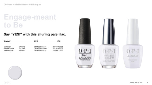 OPI infinite Shine Engage-meant to Be #ISLSH5