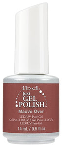 Just Gel Polish Mauve Over 0.5 oz