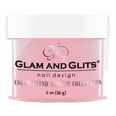 Glam & Glits Acrylic Powder Color Blend Rose 2 Oz- Bl3020-Beauty Zone Nail Supply
