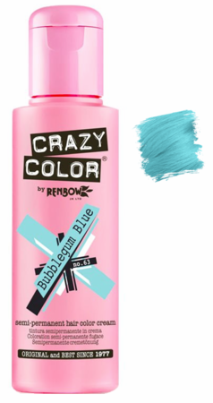 Crazy Color vibrant Shades -CC PRO 63 BUBBLEGUM BLUE 150ML-Beauty Zone Nail Supply