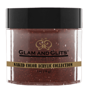 Glam & Glits Naked Color Acrylic Powder (Shimmer) 1 oz High Voltage - NCAC423