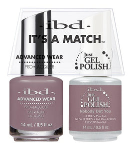 ibd Advanced Wear Color Duo Nobody But You 1 PK-Beauty Zone Nail Supply