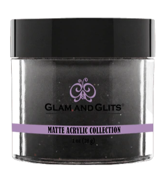 Glam & Glits Matte Acrylic Powder 1 oz Black Forest Cake-MAT638