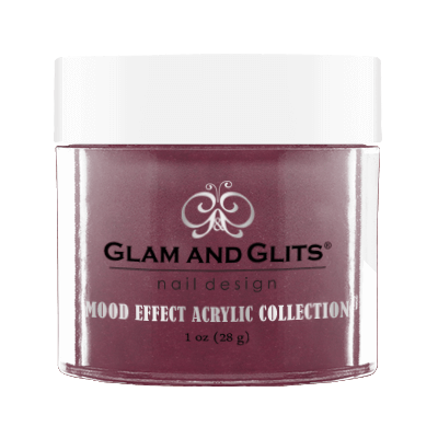 Glam & Glits Mood Acrylic Powder (Glitter) 1 oz Sugary Pink - ME1017-Beauty Zone Nail Supply