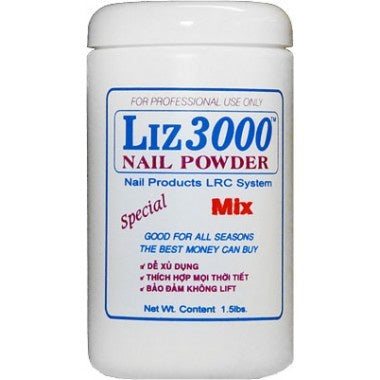 LIZ 3000 POWDER MIX 1.5 LBS #35-Beauty Zone Nail Supply