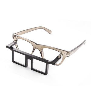 Glasses Frame with Attached Lens #3 #10312