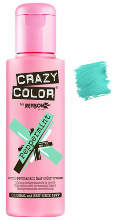 Crazy Color vibrant Shades -CC PRO 71 PEPPERMINT 150ML-Beauty Zone Nail Supply