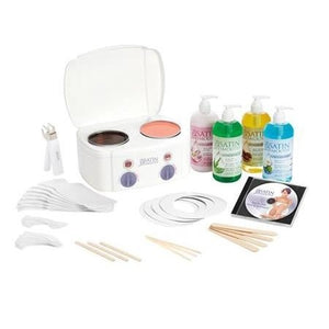 SATIN SMOOTH DOUBLE WAX KIT #SSW08CKIT
