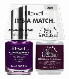 ibd Advanced Wear Color Duo Polish Pretty, Pretty, Please 1 PK