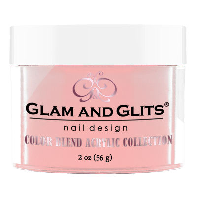 Glam & Glits Acrylic Powder Color Blend Cute As A Button 2 Oz- Bl3021-Beauty Zone Nail Supply