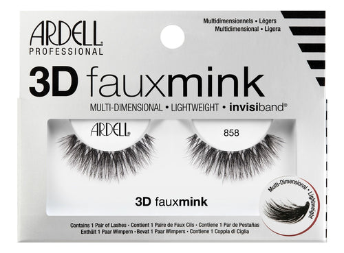 Ardell 3D Faux Mink 858 #70481-Beauty Zone Nail Supply