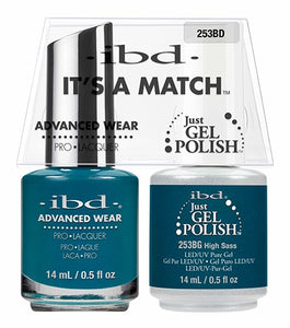 ibd Advanced Wear Color Duo High Sass 1 PK-Beauty Zone Nail Supply